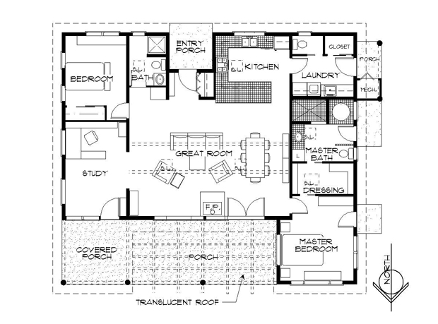 efficient cabin floor plans thefloors co On efficient cabin floor plans