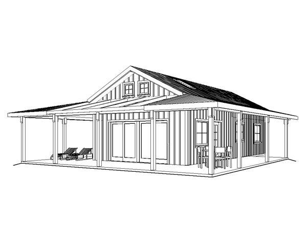 Sunset Cabin II David Wright Architect