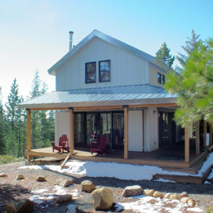 High Sierra Cabin II, David Wright Architect