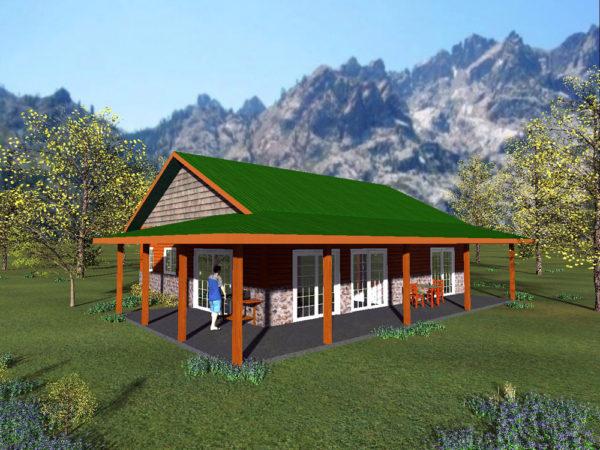 Sierra Butte Cottage David Wright Architects