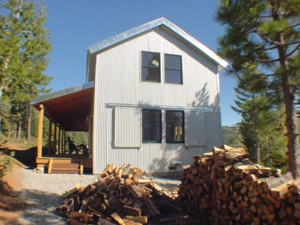 High Sierra Cabin I, David Wright Architect Plans for Sale