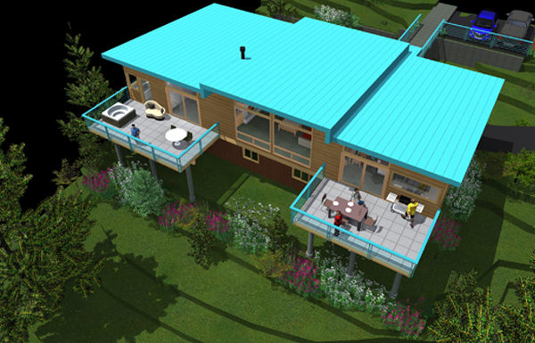 Rorex Residence, Flathead Lake, MT