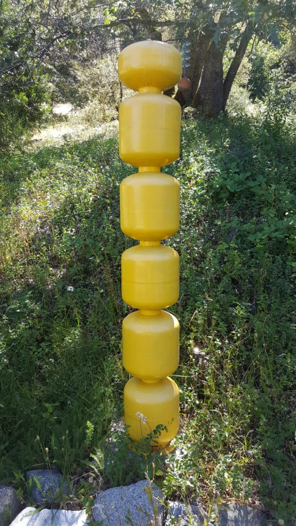 PROPANE TOTEM: steel tanks